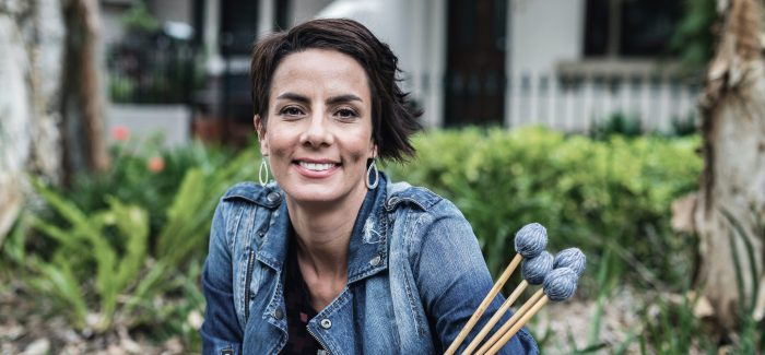 Percussionist Claire Edwardes Keeps her Beat in Iso