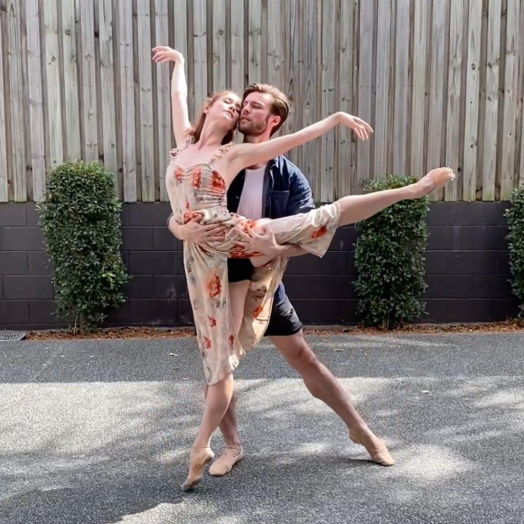 Alison McWhinney & Joel Woellner, Qld Ballet