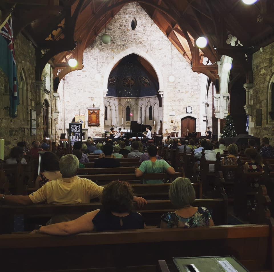Brisbane Music Festival Concert 2019 at St Mary's Church, Kangaroo Point, Brisbane