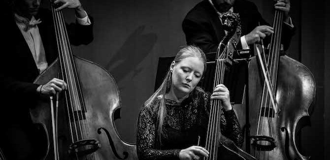 Masterclasses with Double Bass boss Phoebe Russell