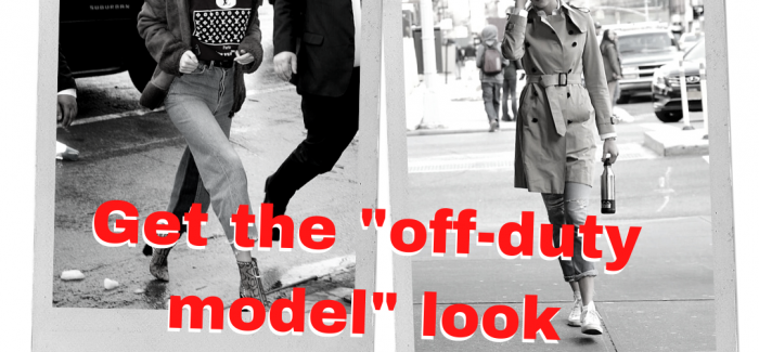 """Get the """"off-duty model"""" look"""