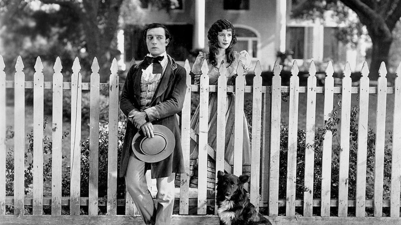 roaring twenties cinema brisbane buster keaton and wife