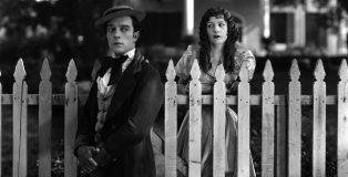 Buster Keaton and wife Natalie Talmadge, OUR HOSPITALITY, 1923, Metro, I.V.