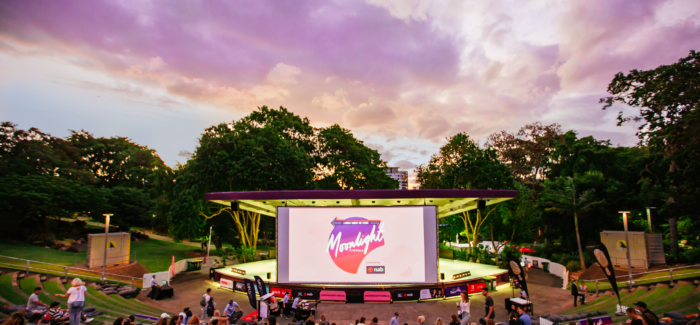 Watch Movies Under the Stars with Moonlight Cinema