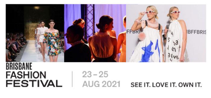 Nina Schrinner as the official Ambassador for Brisbane Fashion Festival