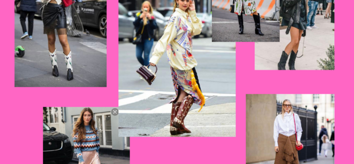 The best, most chic way to embrace the cowboy boot trend